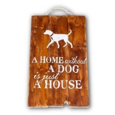 Wandbord Dog