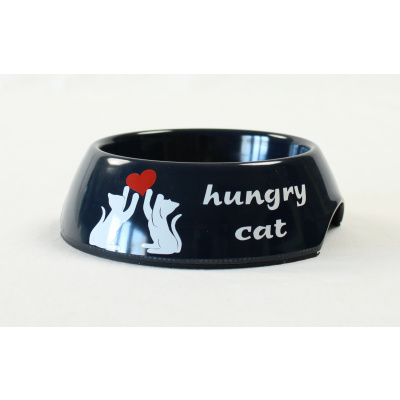 Kattenvoerbakje 'hungry cat'