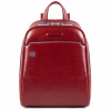 Foto van Piquadro B2 CA4233 Blue Square Small Backpack Red