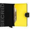 Foto van Secrid Miniwallet Matte Black & Yellow