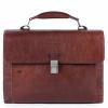 Foto van Piquadro B2S CA4745 Computer Briefcase Dark Brown