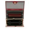 Foto van Castelijn & Beerens 44 2121 Dames portemonnee beugel Bordeaux