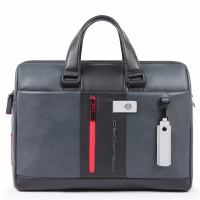 Foto van Piquadro UB00 CA3339 Urban Laptop Briefcase Grey/Black
