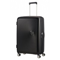 Foto van American Tourister Soundbox Spinner 77/28 TSA Exp. Bass Black