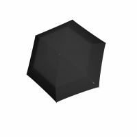 Foto van Knirps US-050 Ultra Light Slim Manual Paraplu Black
