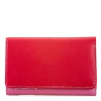Foto van My Walit 363 Medium Tri Fold W/Outer Zip Purse Ruby