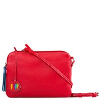 Foto van My Walit 2100 Double Zip Cross Body Red