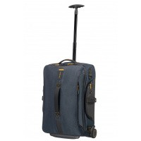 Foto van Samsonite Paradiver Light Duffle Wheels 55/20 Jeans Blue
