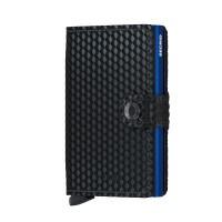 Foto van Secrid Miniwallet Cubic Black-Blue