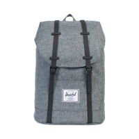 Foto van Herschel Rugtas Retreat Raven Crosshatch Black