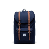 Foto van Herschel Rugtas Little America Mid Volume Peacoat Saddle Brown