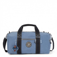 Foto van Kipling Weekend-Sporttas Tag Along Blue Jean Uo