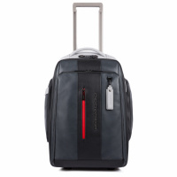 Foto van Piquadro UB00 BV4817 Urban Laptop Trolley/Backpack Grey/Black