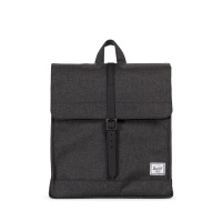 Foto van Herschel Rugtas City M Black Crosshatch Black