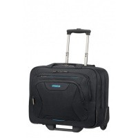 "Foto van American Tourister At Work Rolling Tote 15.6"" Black"