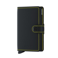 Foto van Secrid Miniwallet Matte Black & Yellow