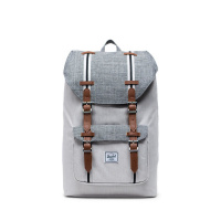 Foto van Herschel Rugtas Little America Mid Volume Raven Crosshatch/Vapor Crosshatch