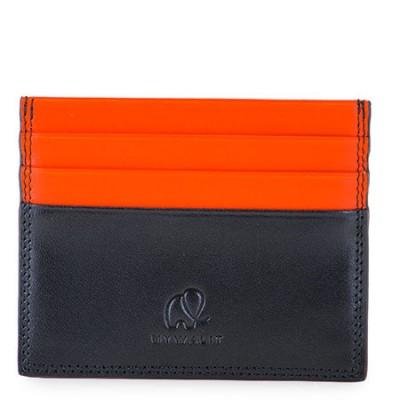 Foto van My Walit 4001 Credit Card Holder W/ Zip Pocket Black/Orange