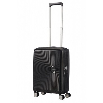 Foto van American Tourister Soundbox Spinner 55/20 TSA Exp. Bass Black