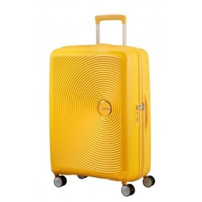 Foto van American Tourister Soundbox Spinner 67/24 TSA Exp. Golden Yellow