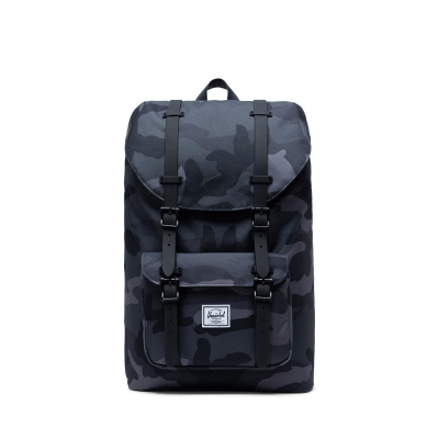 Foto van Herschel Rugtas Little America Mid Volume Night Camo