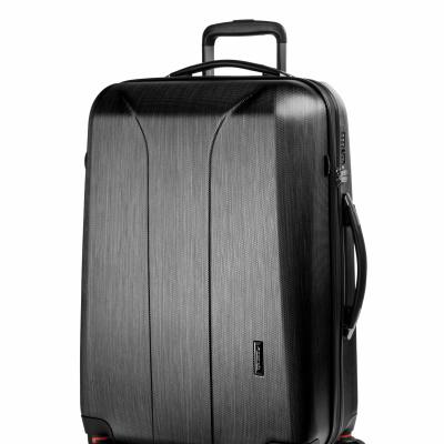 Foto van March Hardschalige Koffer 75 cm New Carat SE Black Brushed