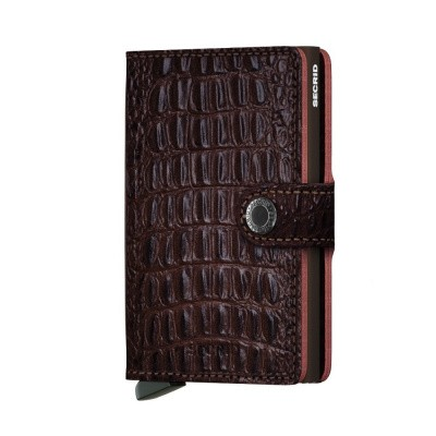 Foto van Secrid Miniwallet Nile Brown