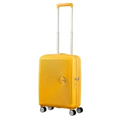 Foto van American Tourister Soundbox Spinner 55/20 TSA Exp. Golden Yellow