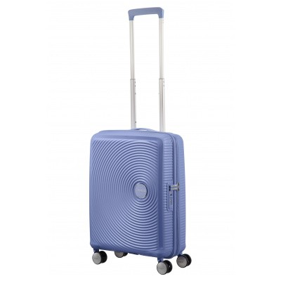 Foto van American Tourister Soundbox Spinner 55/20 exp Denim Blue