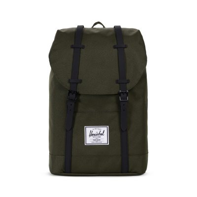 Foto van Herschel Rugtas Retreat Forest Black