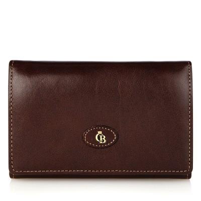 Foto van Castelijn & Beerens 42 2121 Dames portemonnee beugel 6 CC RFID Mocca