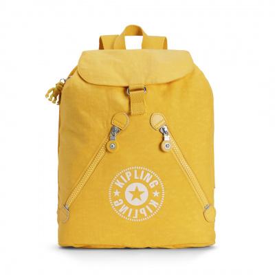 Foto van Kipling Rugtas Fundamental Lively Yellow