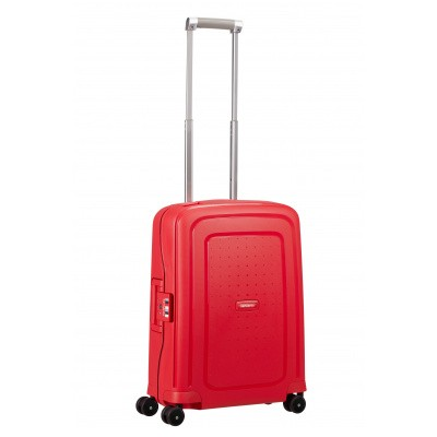 Foto van Samsonite S'cure Spinner 55/20 Capri Red Stripes