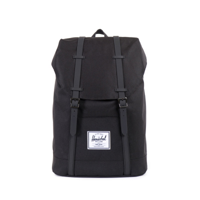 Foto van Herschel Rugtas Retreat Black/Black Pu