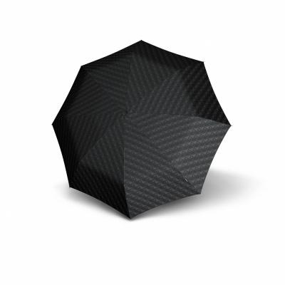 Foto van Knirps Nimbus Duomatic Paraplu Zwart/Grijs Print