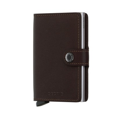 Foto van Secrid Miniwallet Original Dark Brown