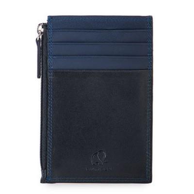 Foto van My Walit 4001 Credit Card Holder W/ Zip Pocket Black/Midnight Blue