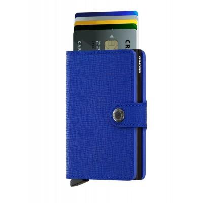 Foto van Secrid Miniwallet Crisple Blue-Black