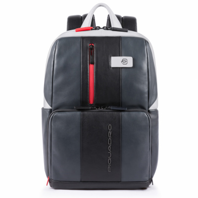 Foto van Piquadro UB00 CA3214 Urban Computer Backpack Grey/Black