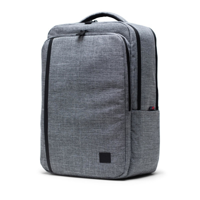 Foto van Herschel Rugtas Travel Backpack Raven Crosshatch
