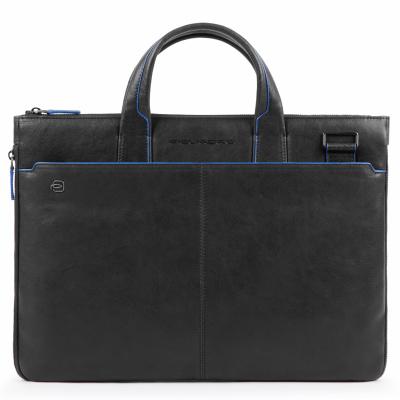 Foto van Piquadro B2S CA4021 Expandable Slim Computer Bag Black