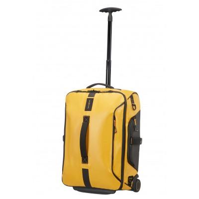 Foto van Samsonite Paradiver Light Duffle Wheels Backpack 55/20 Yellow