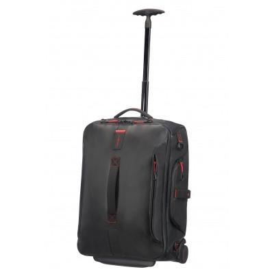 Foto van Samsonite Paradiver Light Duffle Wheels Backpack 55/20 Black
