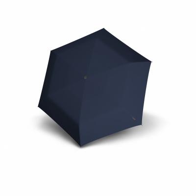 Foto van Knirps TS-200 Slim Medium Duomatic Paraplu Blauw