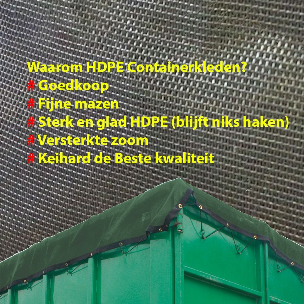 Containernetten - HDPE