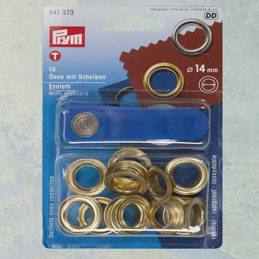 Zeilringen 14 mm Goud