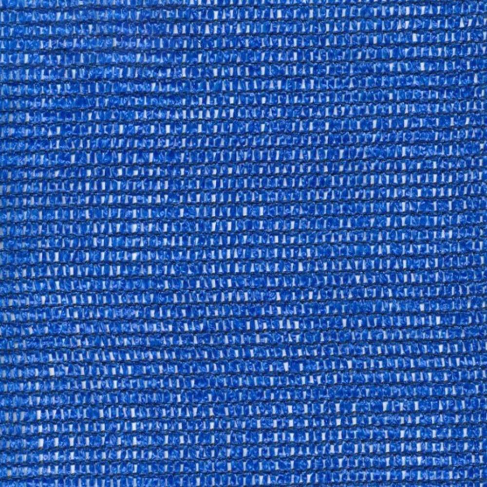 Hekwerknet op rol PE 150 Blauw