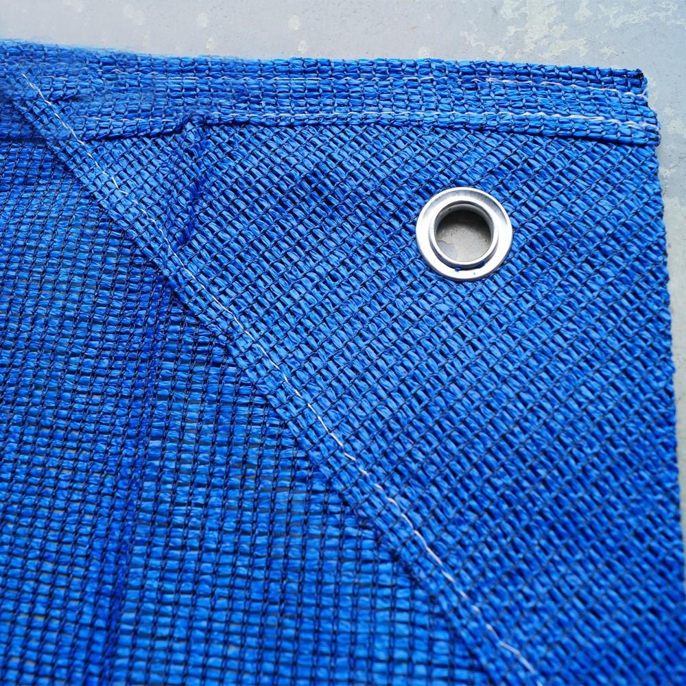 Hekwerknetten PE 150 Blauw