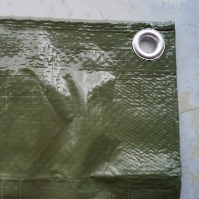 Foto van PE dekkleed 250 gr/m2 Olijfgroen