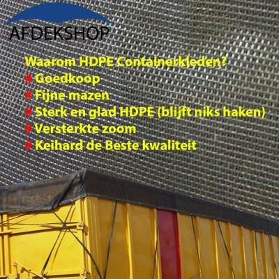 Foto van Containernetten - HDPE